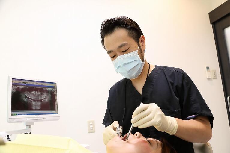無痛治療は、ドクターの技術力が必要になります。