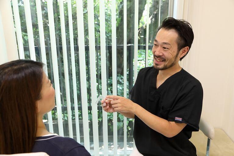 京都市右京区のデンタルクリニック川村はアクアシステム(マウスピース矯正)認定医です。
