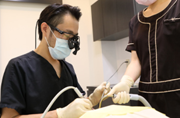 安心の虫歯治療