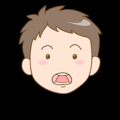 舌の癖で前歯に隙間が空いてきた