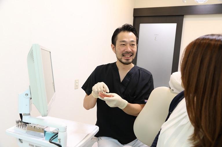 前歯のセラミック矯正の流れ